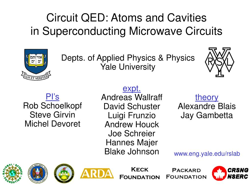 Ppt Circuit Qed Atoms And Cavities In Superconducting Microwave Wiring Diagram Circuits N