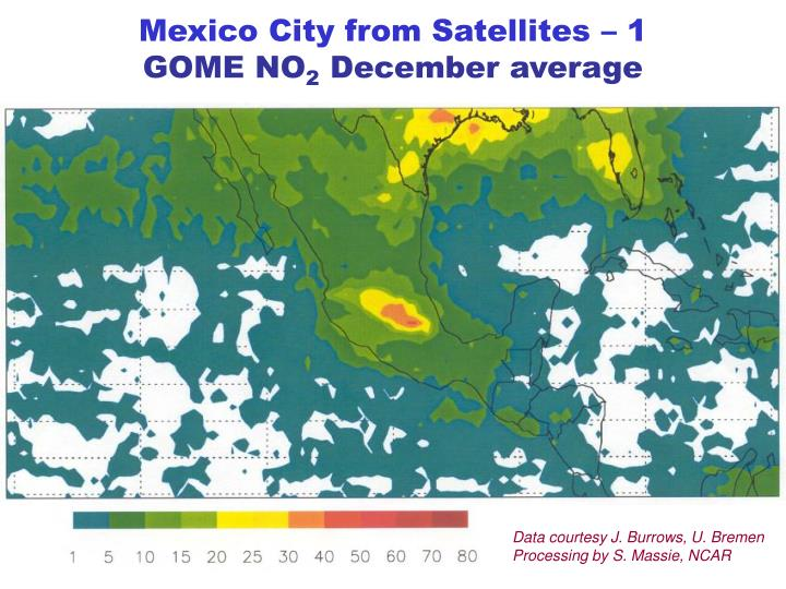 Mexico City from Satellites – 1