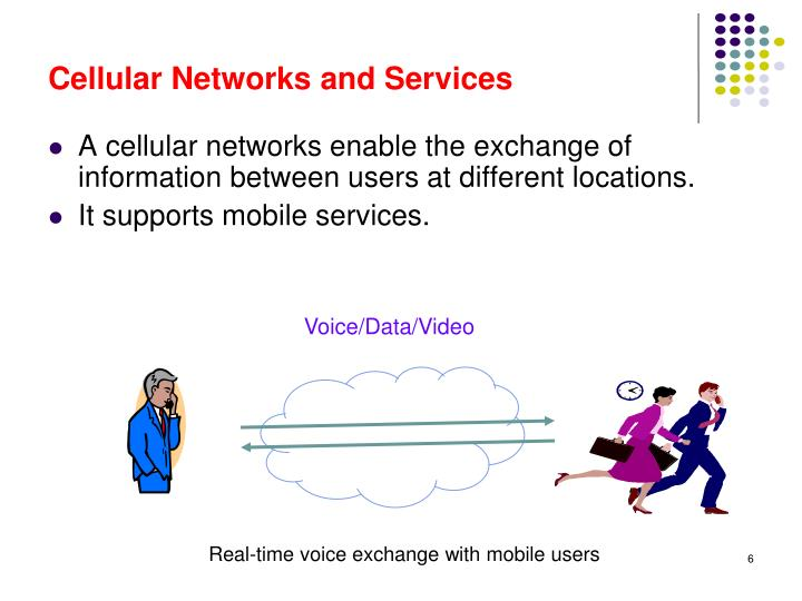 Cellular Networks and Services