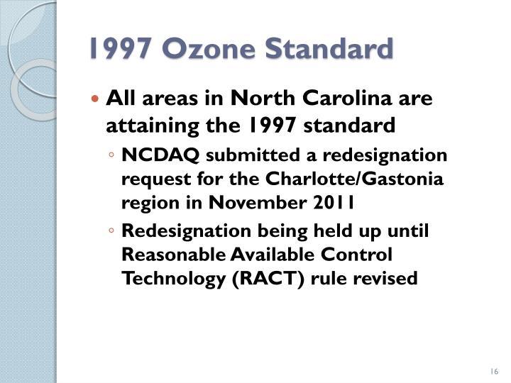 1997 Ozone Standard