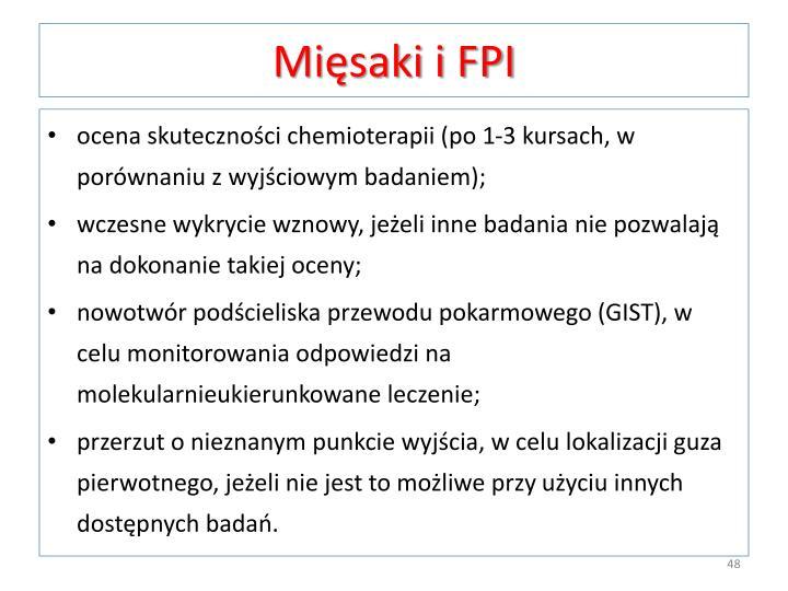 Mięsaki i FPI