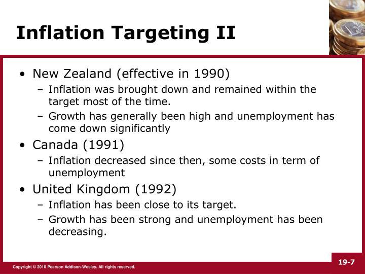 inflation targating