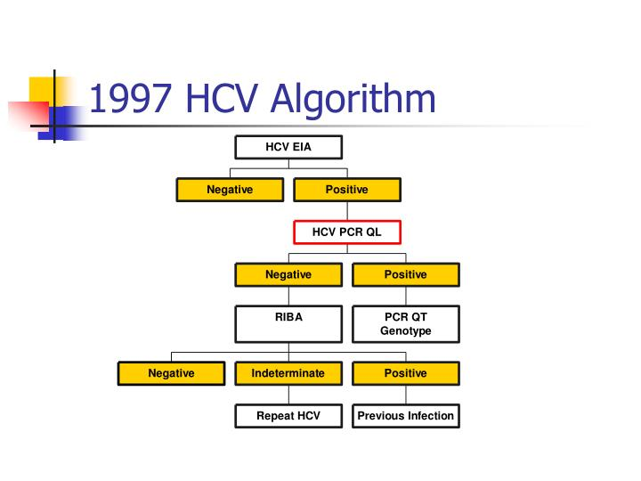 1997 HCV Algorithm