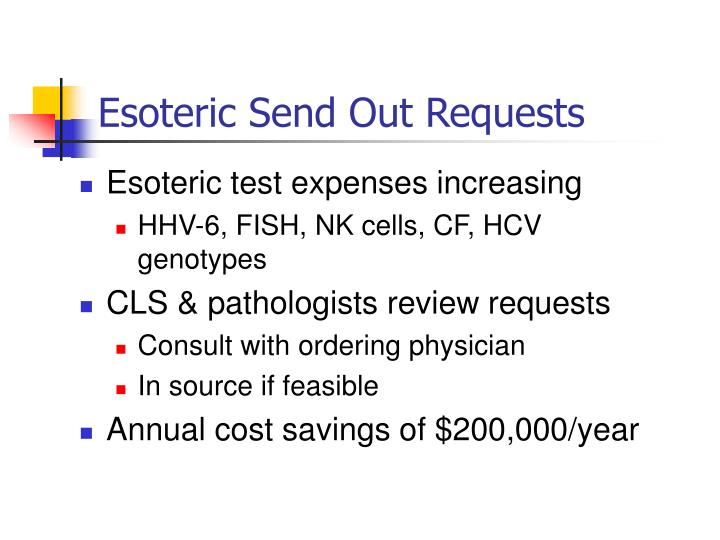 Esoteric Send Out Requests
