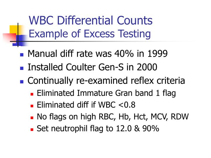 WBC Differential Counts