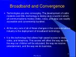 broadband and convergence