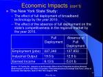 economic impacts con t7