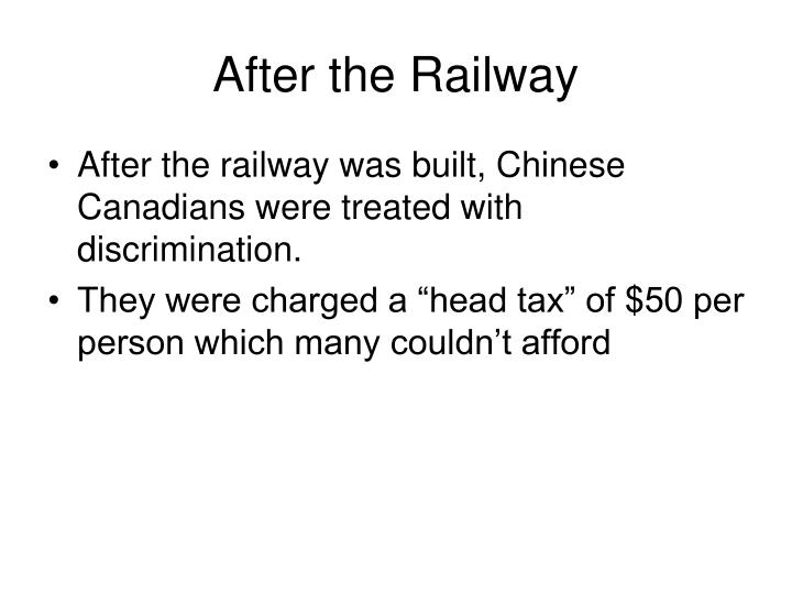 After the Railway