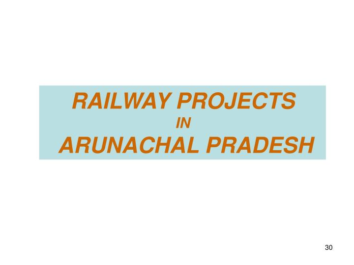 RAILWAY PROJECTS