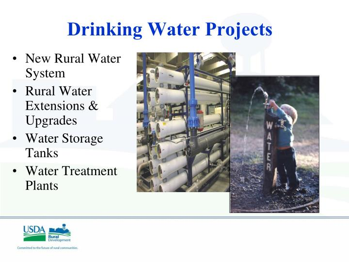 Drinking Water Projects