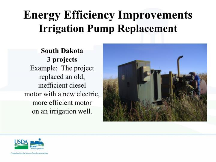 Energy Efficiency Improvements