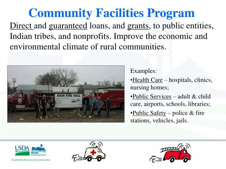 Community Facilities Program