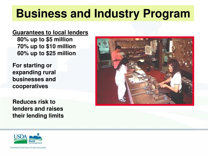 Business and Industry Program