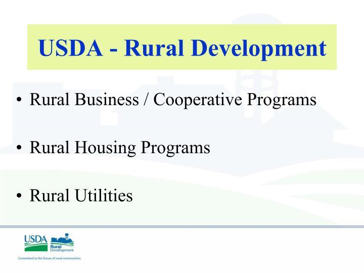 Usda rural development1