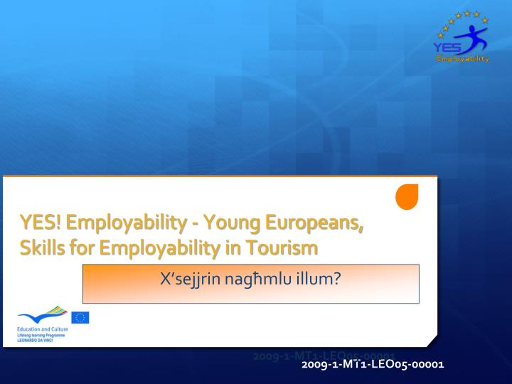 yes employability young europeans skills for employability in tourism