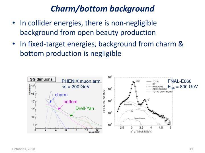 Charm/bottom background