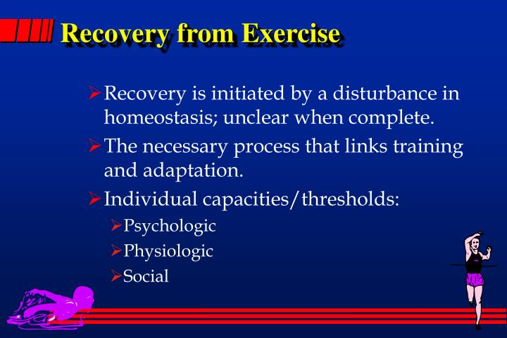 Recovery from Exercise