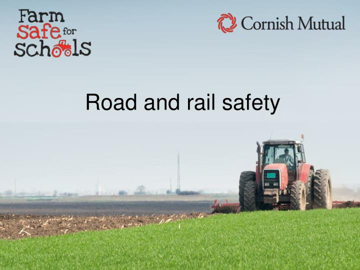 road and rail safety n.
