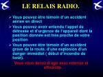 le relais radio
