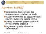 algoritmo subset