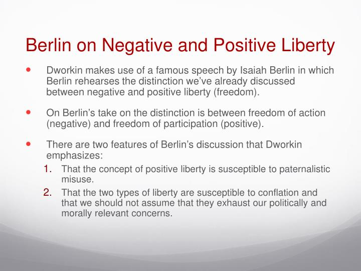 negative and positive liberty essay Free essay examples, how to write essay on negative liberty positive freedom coercion example essay, research paper, custom writing write my essay on liberty negative positive.