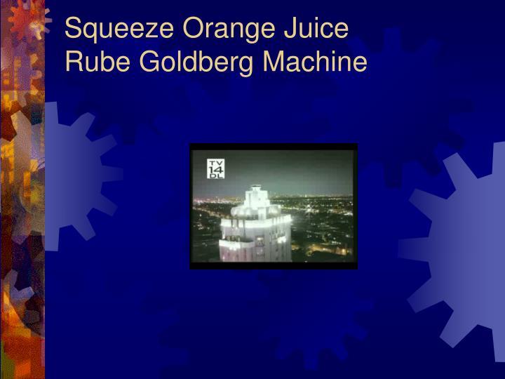 Squeeze Orange Juice