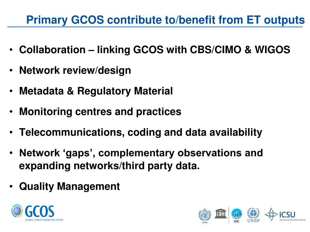PPT - Tim Oakley, GCOS Implementation Manager PowerPoint