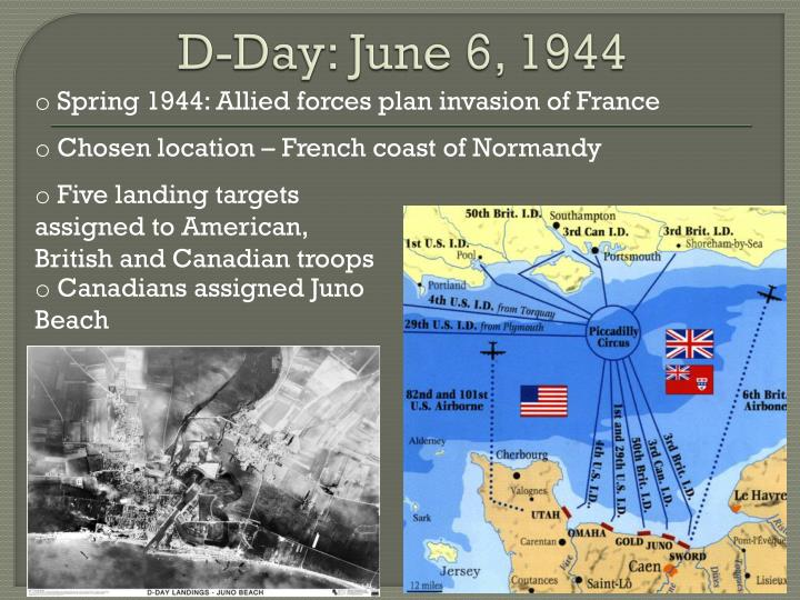 D-Day: June 6, 1944