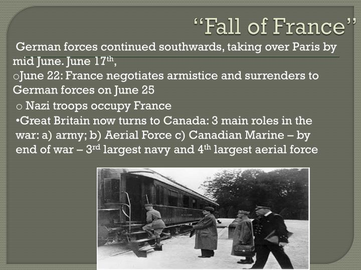 """""""Fall of France"""""""