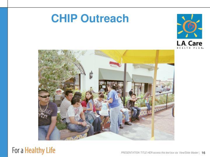 CHIP Outreach