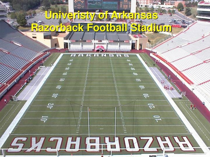 Univeristy of Arkansas