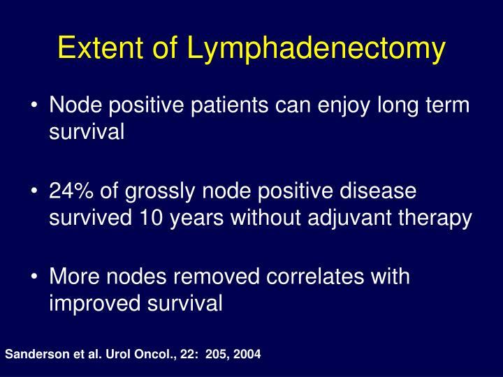 Extent of Lymphadenectomy