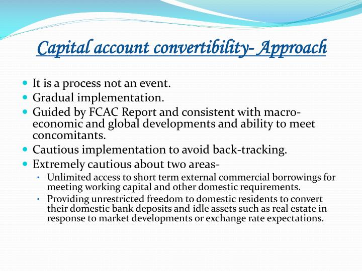 rupee convertibility on capital account