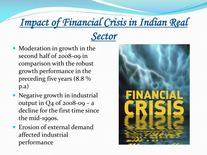 impact of recession in it sector in india Impact of the global recession on the fdi flows in india - a special reference to housing sector annals of management research, volume 1, number 1, september - october 2011 29.