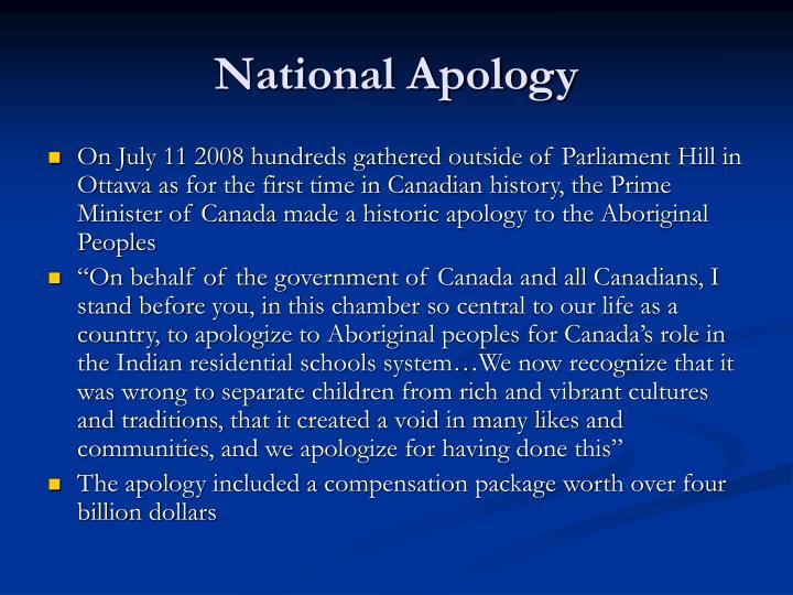 National Apology