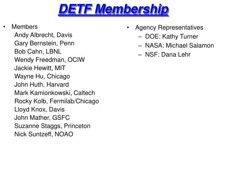 Detf membership