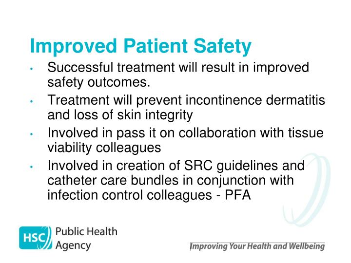 Improved Patient Safety