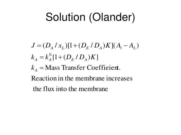 Solution (Olander)