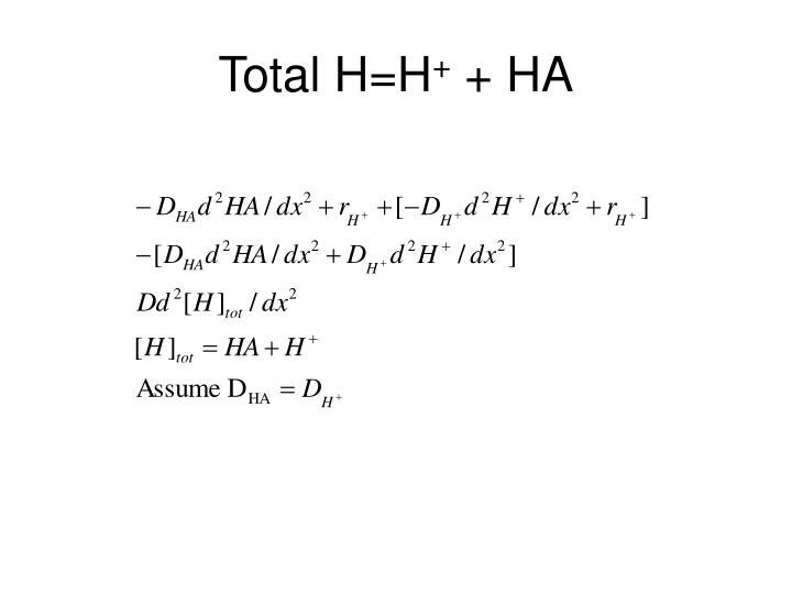 Total H=H