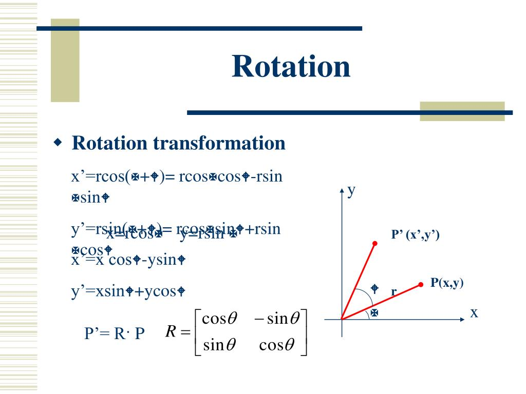 PPT - Two-Dimensional Geometric Transformations PowerPoint