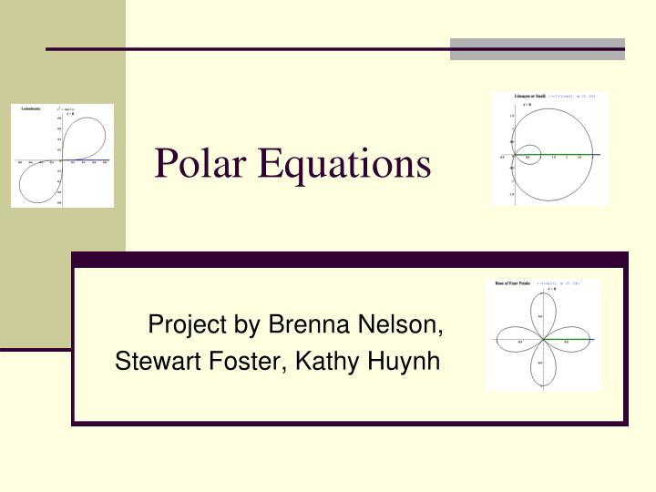 polar equations n.