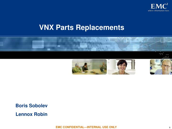 vnx parts replacements n.