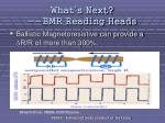 what s next bmr reading heads