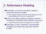 3 performance modeling