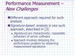performance measurement new challenges1