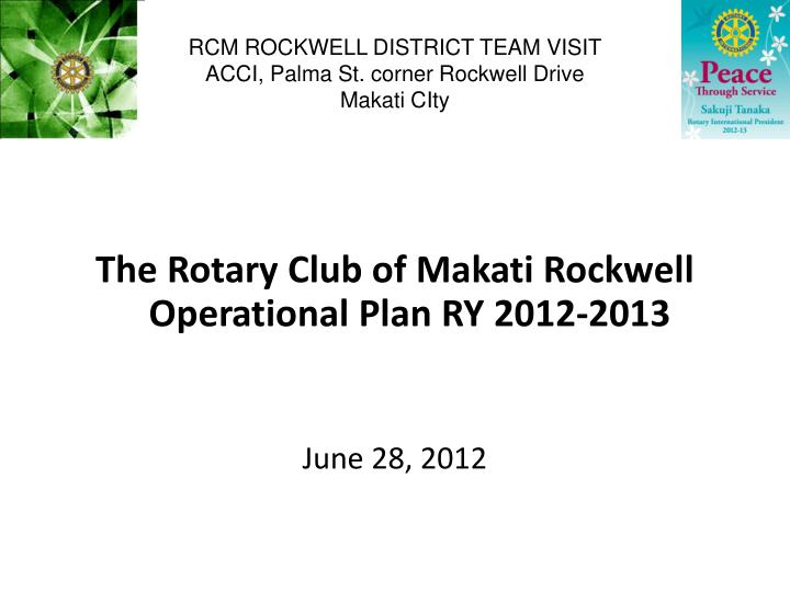 rcm rockwell district team visit acci palma st corner rockwell drive makati city n.