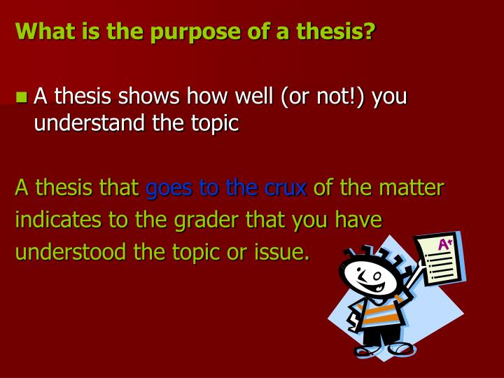 thesis grader