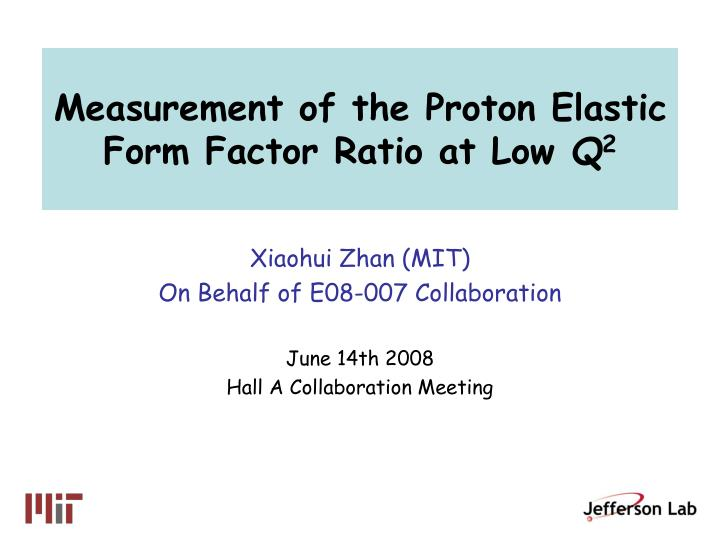 ratio analysis for proton