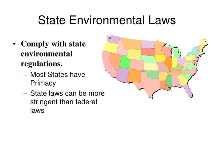 State Environmental Laws