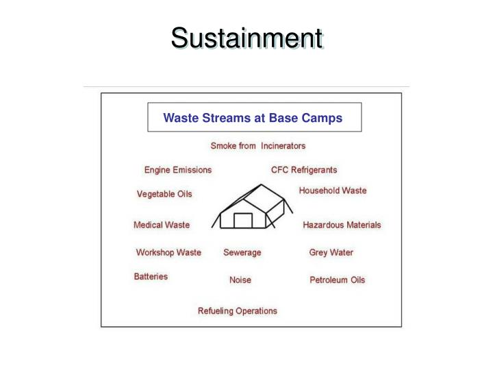 Sustainment